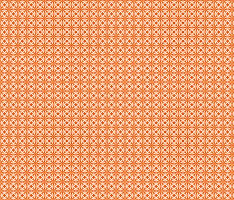 Sliced Citrus Orange fabric by melaniesullivan on Spoonflower - custom fabric