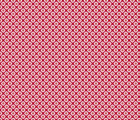 church windows red fabric by melaniesullivan on Spoonflower - custom fabric