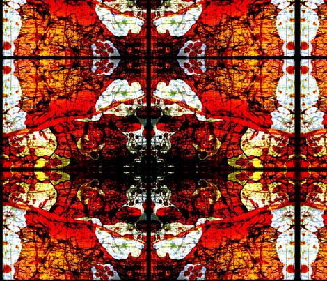 Orange sea fabric by nascustomlife on Spoonflower - custom fabric