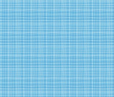 Wavy Wovens Blue fabric by melaniesullivan on Spoonflower - custom fabric