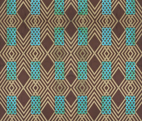 Lattice weave fabric by flyingfish on Spoonflower - custom fabric