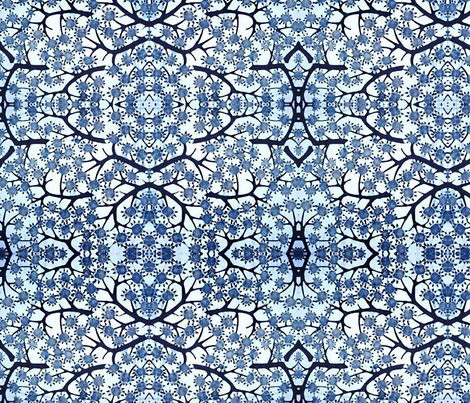 Delft Sky fabric by flyingfish on Spoonflower - custom fabric