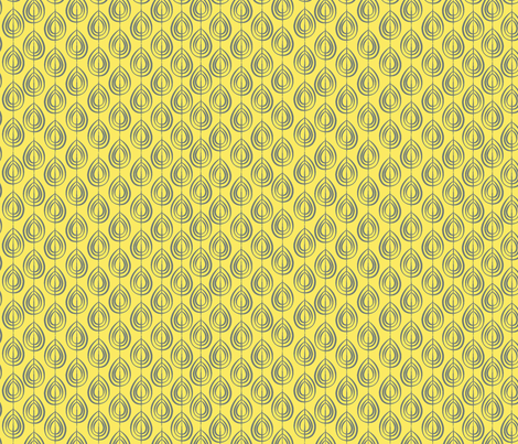 Cocoon Lemon fabric by designedtoat on Spoonflower - custom fabric