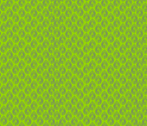 Cocoon Lime fabric by designedtoat on Spoonflower - custom fabric