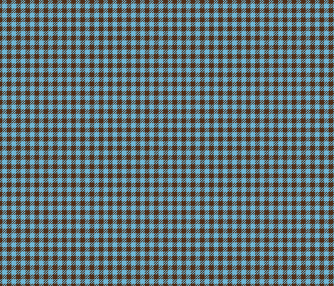 Christmas Plaid (Blue) fabric by sugarxvice on Spoonflower - custom fabric