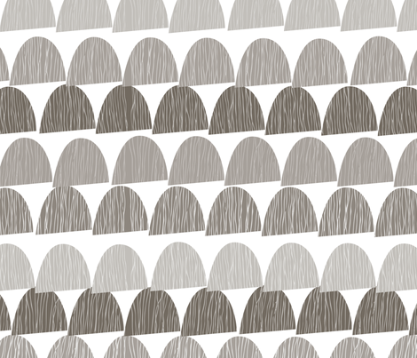 Shroom Cool fabric by katyclemmans on Spoonflower - custom fabric