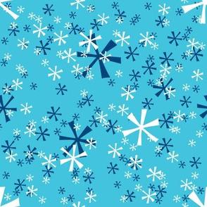 Winter Wonderland Snowflakes - tourquois