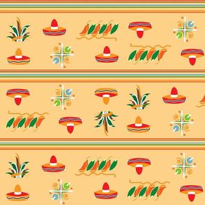 Mexican Hat Stripe