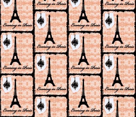 Evening in Paris 2012 fabric by karenharveycox on Spoonflower - custom fabric