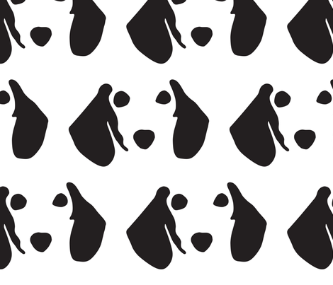 dachshund  medium fabric by mariafaithgarcia on Spoonflower - custom fabric