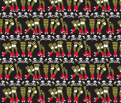Derby Legs 11/10/12 ch fabric by beesocks on Spoonflower - custom fabric
