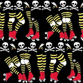 Roller Derby Stripe