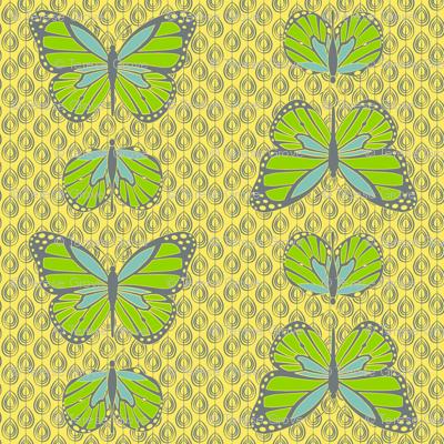 Cocoon Butterflies Lemon