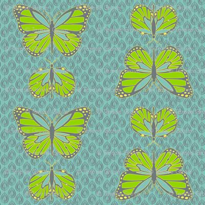 Cocoon Butterflies Sky