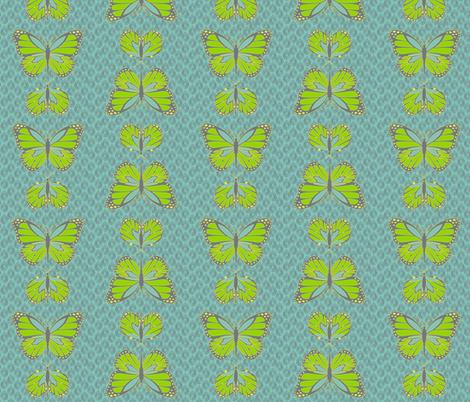 Cocoon Butterflies Sky fabric by designedtoat on Spoonflower - custom fabric