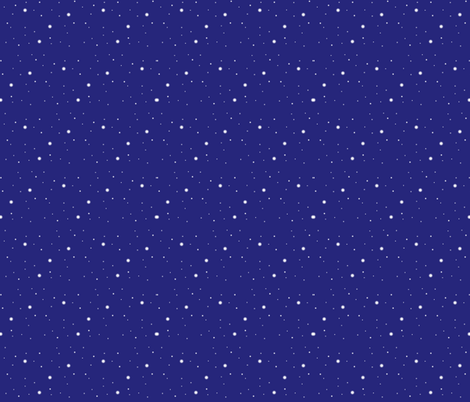 snowdots fabric by nerdycarebear on Spoonflower - custom fabric