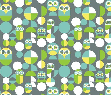 Flights of Fancy fabric by kate_legge on Spoonflower - custom fabric