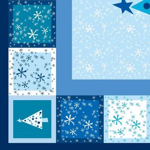 Winter Wonderland Cheater Quilt