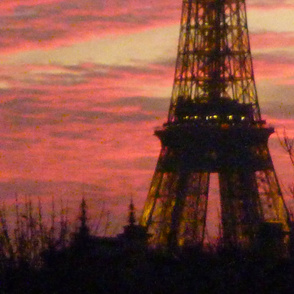 November Sunset with Eiffel Tower 1