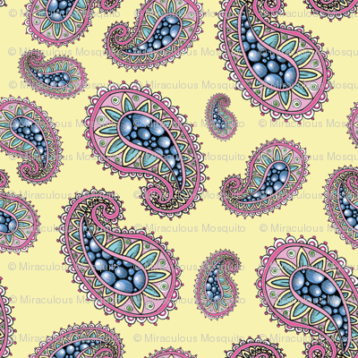 paisley_repeat_pattern_yellow_background
