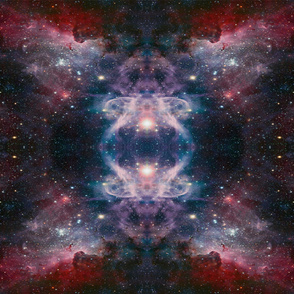 Space print-nebula