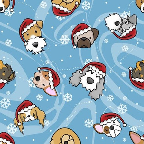 Kawaii Dogs Christmas
