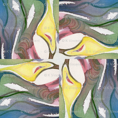 Nature Nurturing the Spark of Life, tile01
