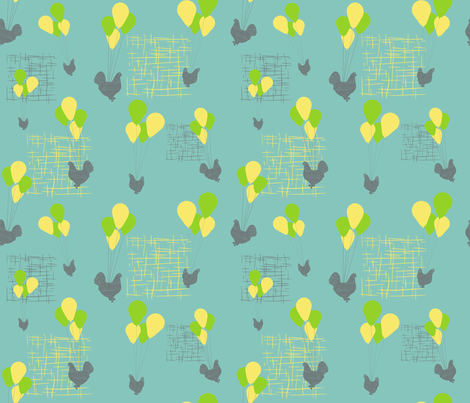 Flight_of_Fancy fabric by yvonne_herbst on Spoonflower - custom fabric