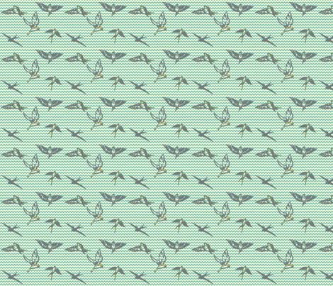 Flight-of-Fancy fabric by prettyhawk on Spoonflower - custom fabric