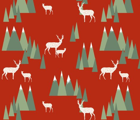 Xmas_deer_trees_red_shop_preview