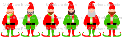 Santa's Christmas elves