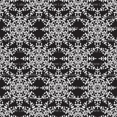 Ornate Snowflakes Pattern
