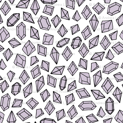 crystals // purple lilac crystal gems fabric girls gemstones