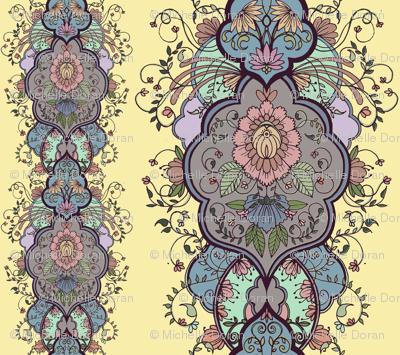 floral arabesque