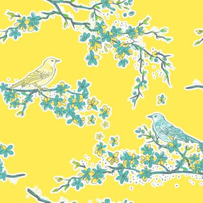 Blossoms & Song Birds