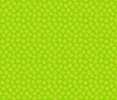 Flower Ditsy fabric by holly_helgeson on Spoonflower - custom fabric