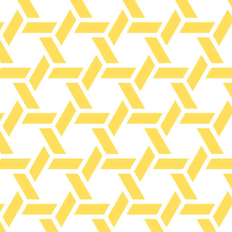 kagome thick in citrine fabric by chantae on Spoonflower - custom fabric