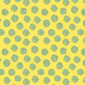 Flower Ditsy - yellow