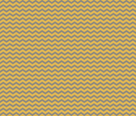 SCC-Feb2013-Gold-Gray-Chevron fabric by littledesignshop on Spoonflower - custom fabric