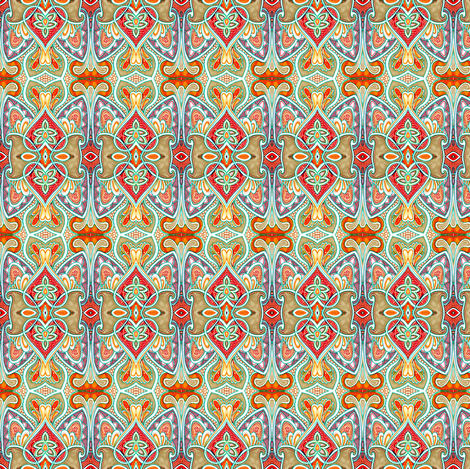 The Door to Morocco fabric by edsel2084 on Spoonflower - custom fabric