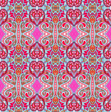 Heart Country fabric by edsel2084 on Spoonflower - custom fabric
