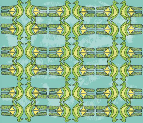 Northern_California_Love_Birds fabric by designergena on Spoonflower - custom fabric