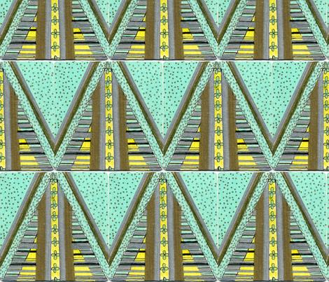 Straight_arrow fabric by pink_finch on Spoonflower - custom fabric
