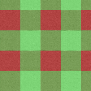 Holly Jolly Knit Gingham