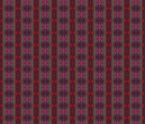 Pylori Fantasy Plaid - Oxblood fabric by tequila_diamonds on Spoonflower - custom fabric