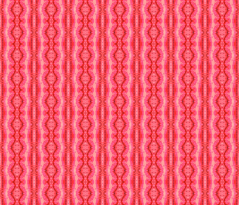 Pylori Fantasy - Electric Coral fabric by tequila_diamonds on Spoonflower - custom fabric
