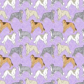 Standing Windsprites - purple