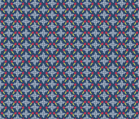 Colourful Abstract Pattern In Modern Art Style fabric by diane555 on Spoonflower - custom fabric