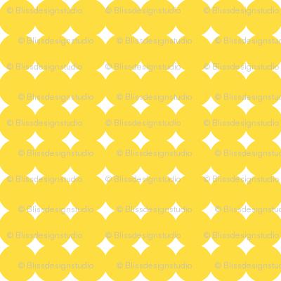 melting circles yellow