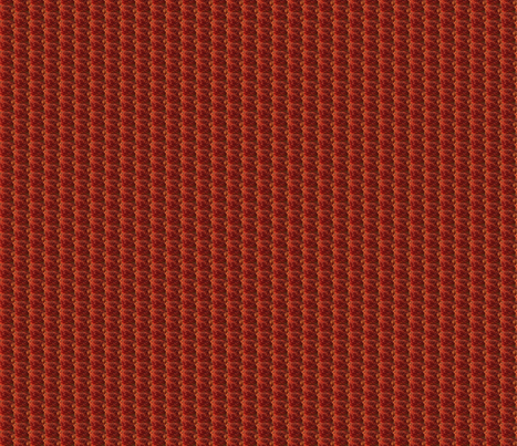 Autumnal Red fabric by theloopweaver on Spoonflower - custom fabric